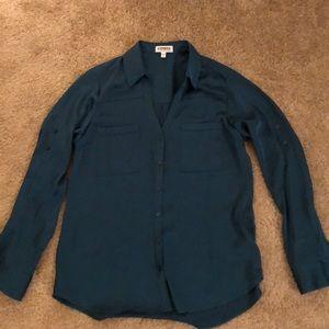 Express teal portofino shirt